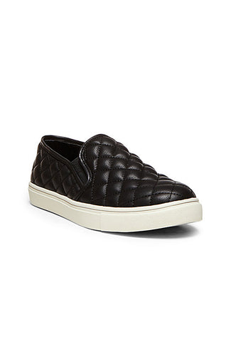 Ecentrcq Neutral Quilted Slip Sneaker - Black