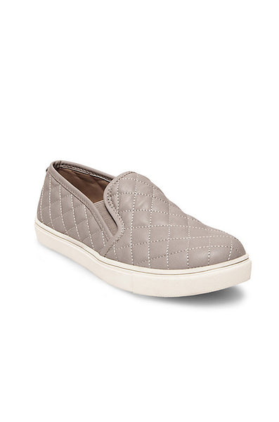 Ecentrcq Neutral Quilted Slip Sneaker - Grey