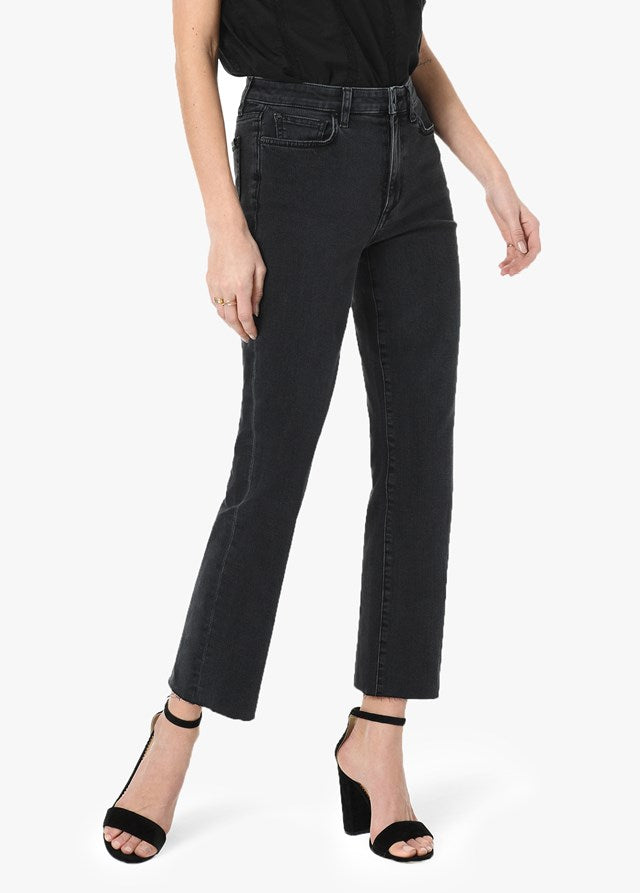 The Callie High Rise Cropped Bootcut - Estella