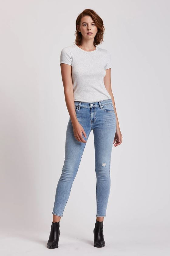 Nico Midrise Super Skinny Ankle Jean - Exchange