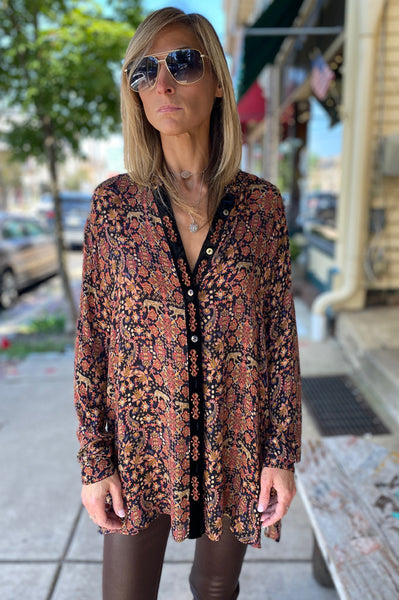 Floral Blouse - Multi A