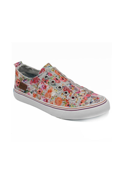 Play Sneaker - Sweet Gray Flowerfest Canvas