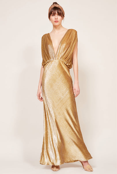 Helen Dress - Goldy