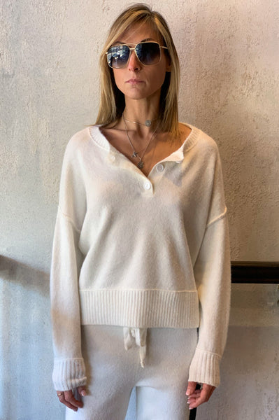 Acacia Sweater - White