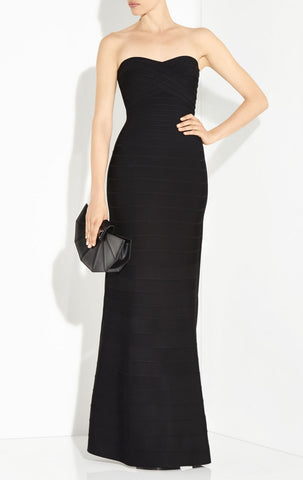 Sara Signature Gown - Black
