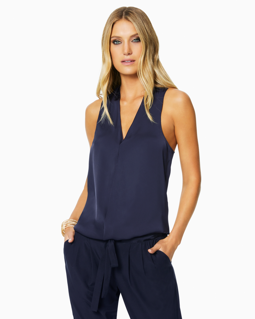 Jilly Top - Navy