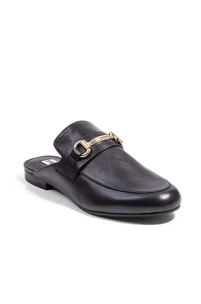 Kandi Loafer - Black Leather