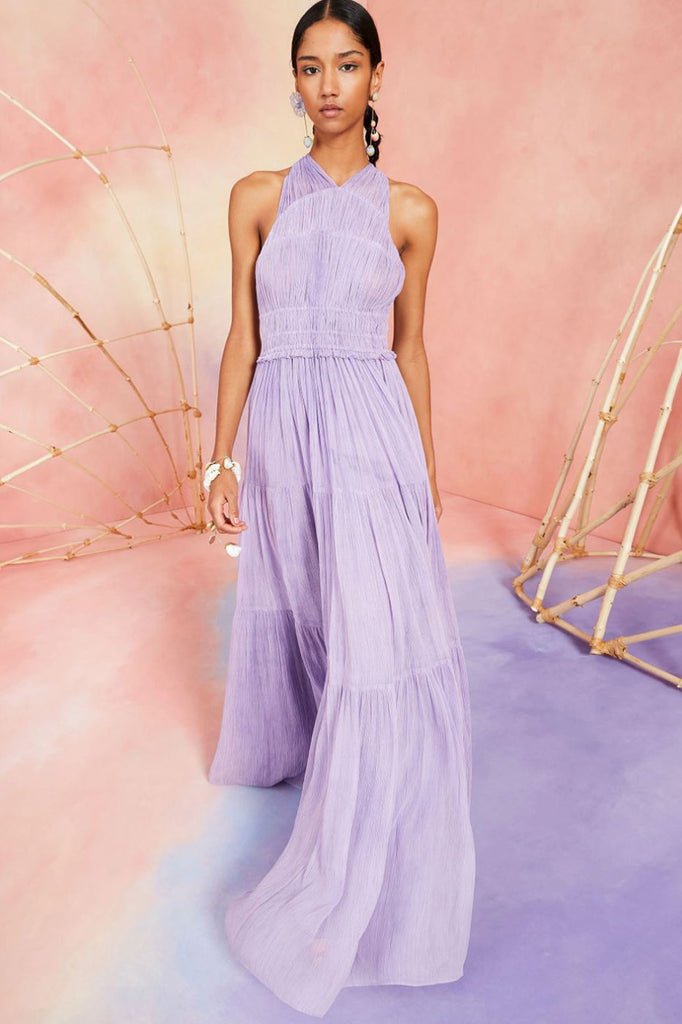 Freesia Gown - Lavender