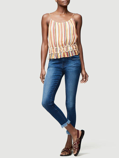 Le Skinny de Jeanne Crop Micro Shredded - Cantine