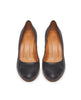Lichi Heel - Prismanet Black Leather