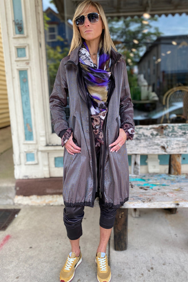 Mid Length Coat - Multi