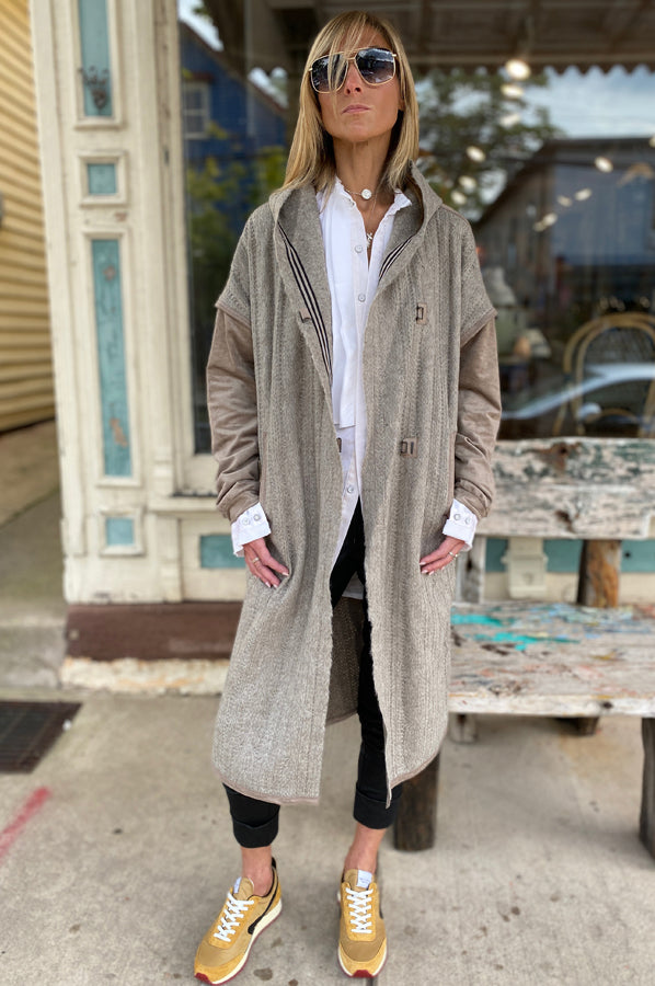 Long Coat - Tan