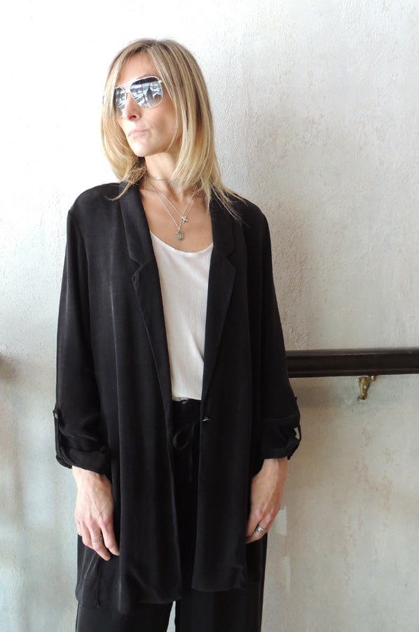 Long Jacket - Black