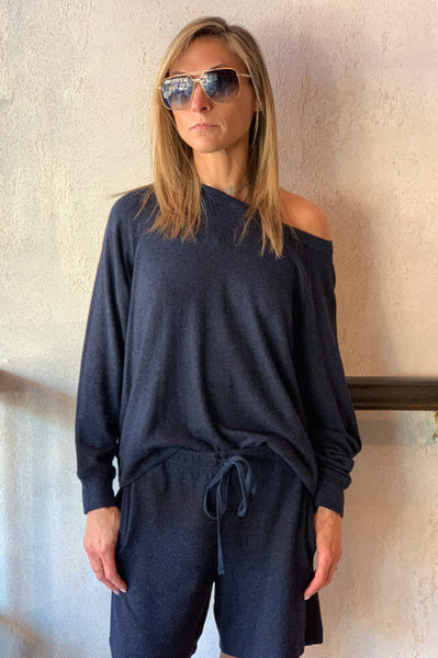 Brylie Pullover - Navy