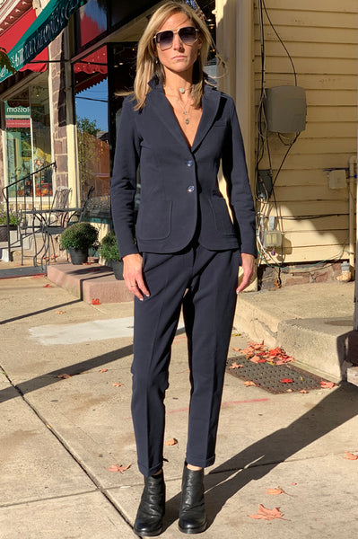Tailored Pants - Navy