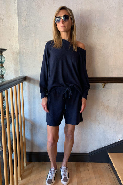 Janey Shorts - Navy