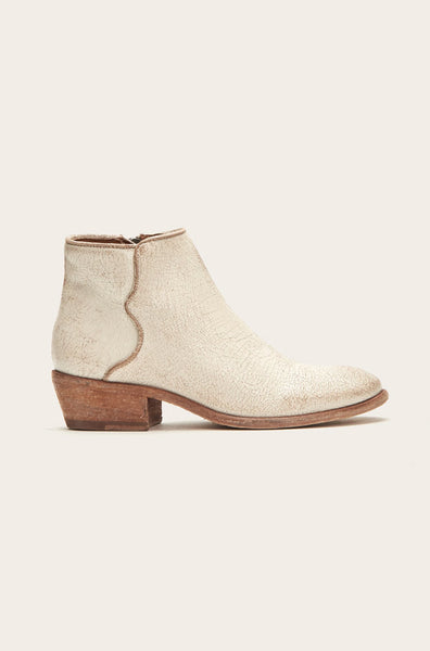 Carson Piping Bootie - Off White