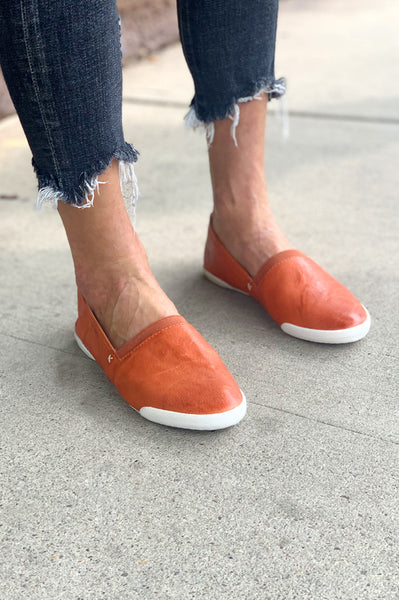 Melanie Slip On - Sunset Orange