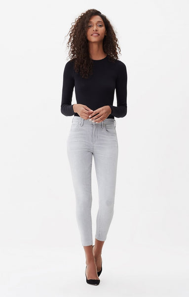 Rocket Crop High Rise Skinny - Phantom