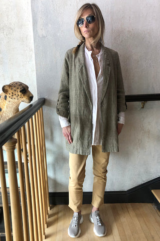 Rapaport Cardigan - Gravel