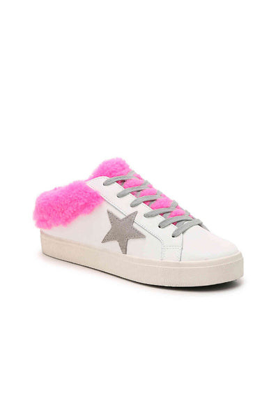 Polaris Slip On Sneaker - White/Pink
