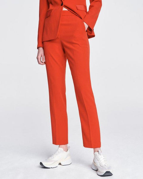 Layla Crepe Pant - True Red