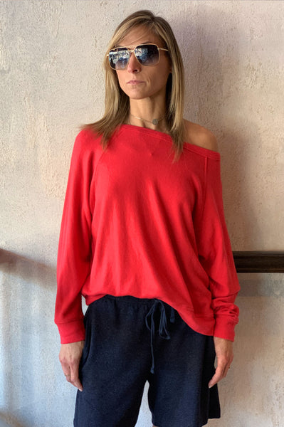 Brylie Pullover - Red