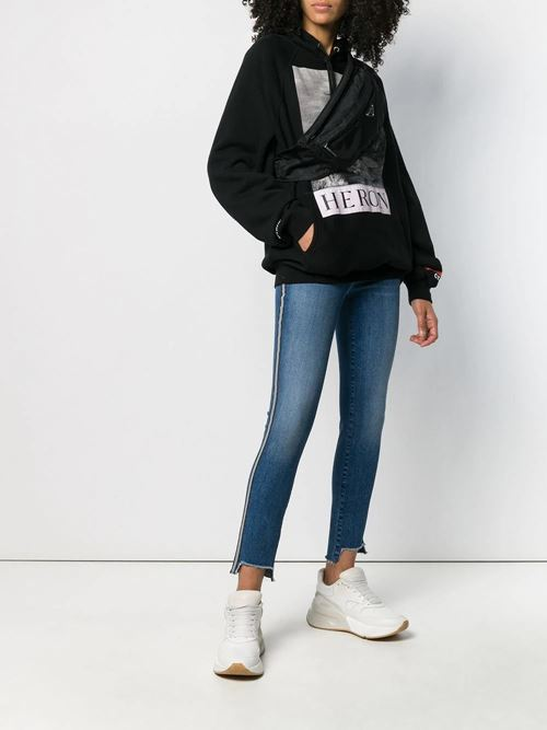Reflecting Crop Skinny Jeans