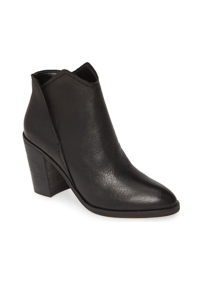 Shep Booties - Black Leather