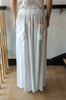 Maxi Skirt w/ Pockets - White