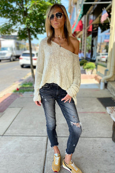 Pullover Top - Natural