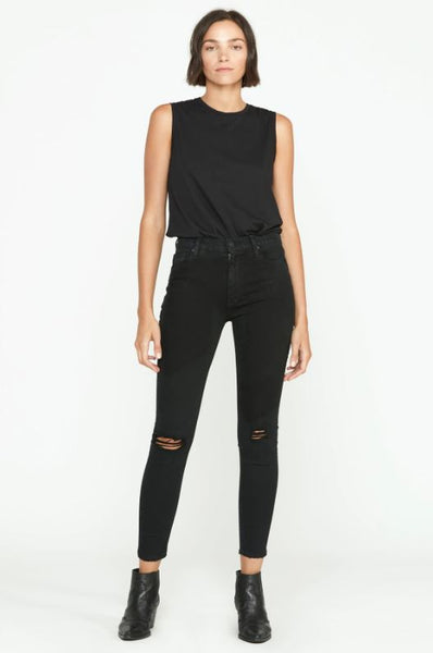 Barbara High Rise Super Skinny Ankle Jean - Tilted