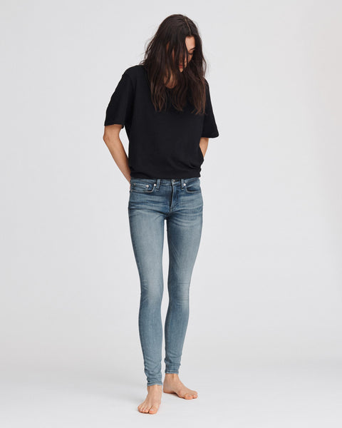 Cate Mid Rise Skinny - Vail