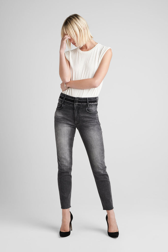 Vintage Holly High Rise Crop Skinny Jean - Valley View