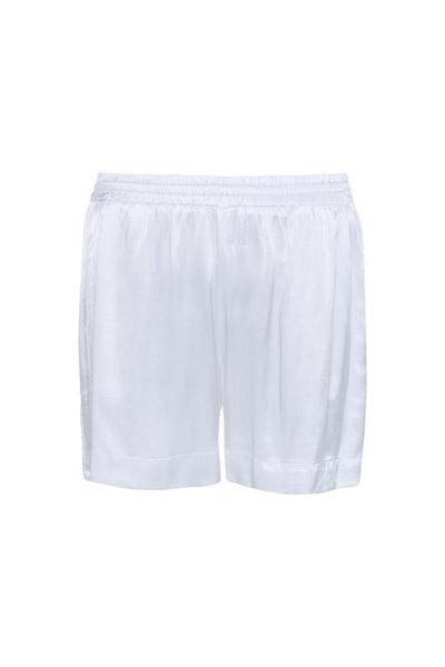 Hayley Silk Shorts - White
