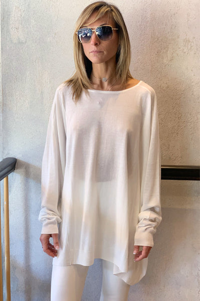 Knitted Tunic - Off White