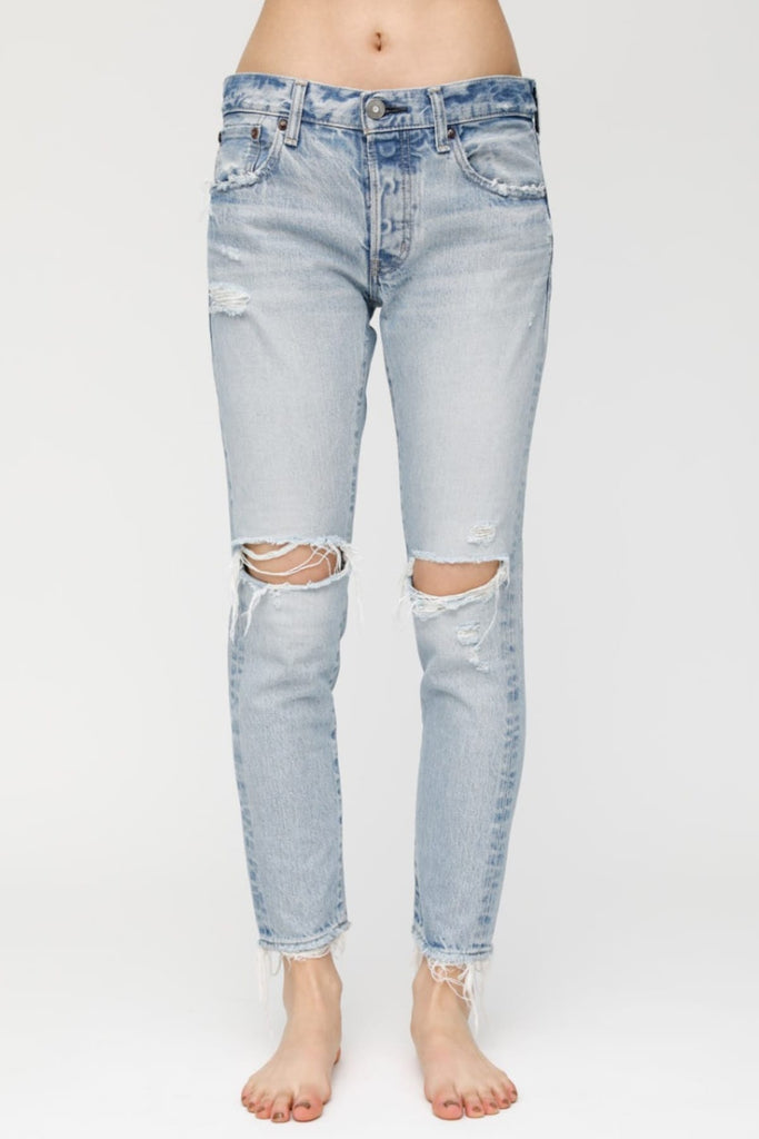 MV Yardley Tapered Jeans - Light Blue