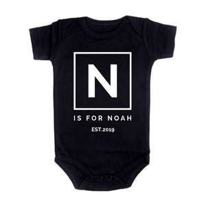 Name + Year Onesie