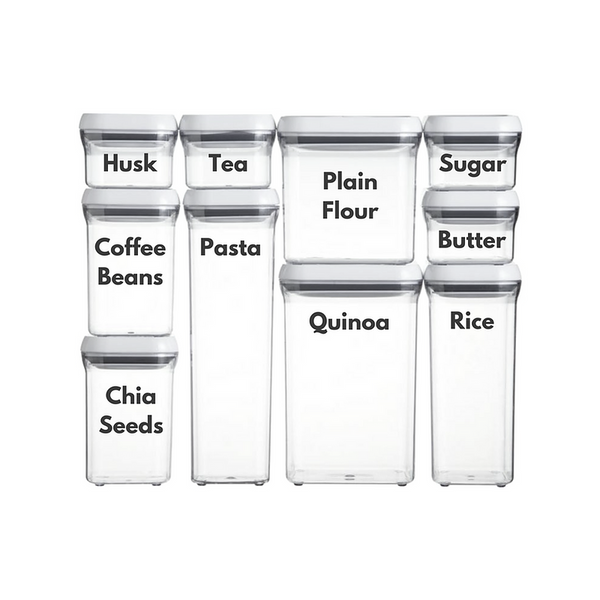 Food Container Labels