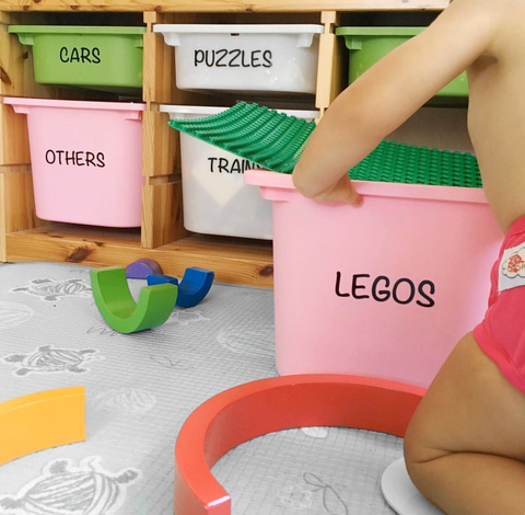 Toy Box Labels