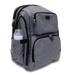 Unisex Nappy Backpack (Grey)