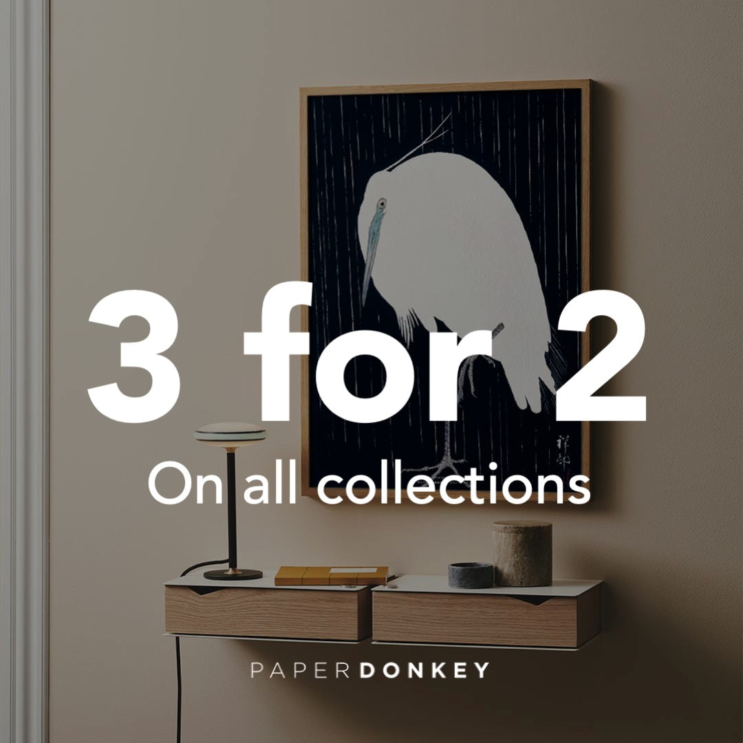 3 for 2 offer on art posters