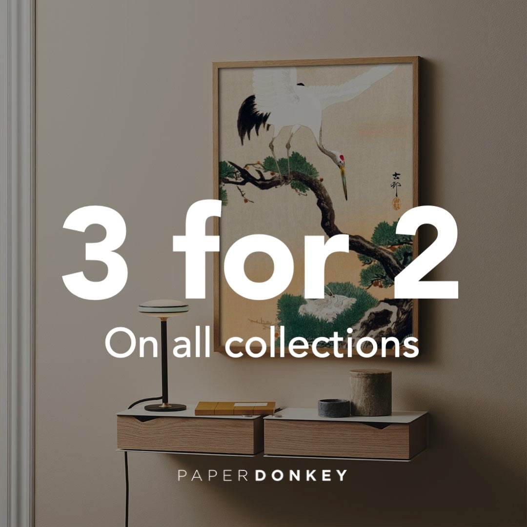 3 for 2 on all art prints