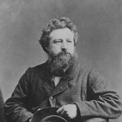 Portrait of the artist William Morris