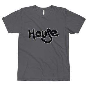 Best Favorite House Music Disc Jockey Word Art T-Shirt