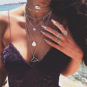 Ocean Soul Layered Necklace