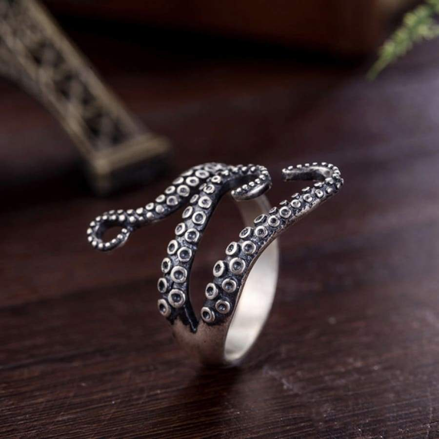 Octopus Ring Stainless Steel