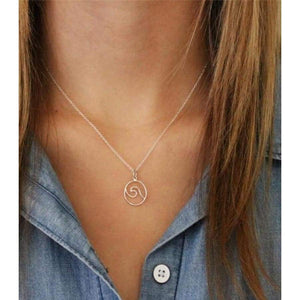 Wave Necklace - Gold 1