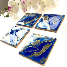 Load image into Gallery viewer, Royal coaster set of 4 - Mamota Creative
