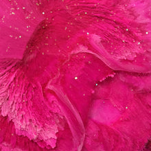 Load image into Gallery viewer, Micro shot of Close up of Alcohol ink hot pink flower coasters - Mamota Creative